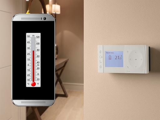 Temperature Measurement App - Thermometer For Room