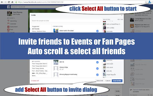 Friend Inviter Pro 2016 Invite All Friends Chrome Web Store