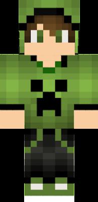Creeper Boy Nova Skin - Skin para minecraft pe creeper