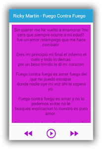 Ricky Martin Mordidita Lyrics screenshot 2