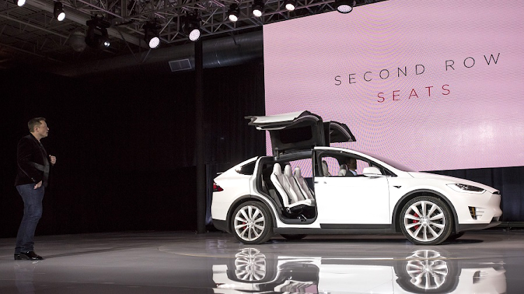 Tesla car. Picture: BLOOMBERG/DAVID PAUL MORRIS