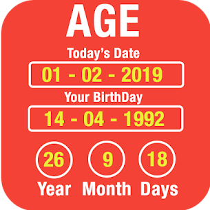 Age Calculator by Date of Birth 3.0 [Mod + APK] Android 3