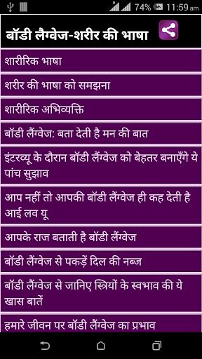 Body Language Sharir Ki Bhasha