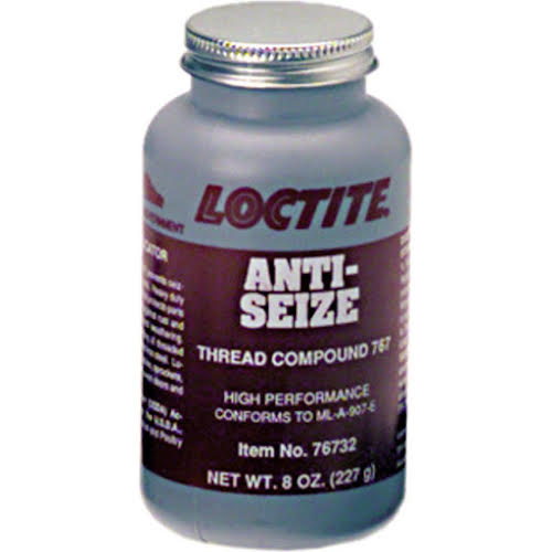 Loctite Anti-seize compound, 8oz Can with Brush Built Into Cap