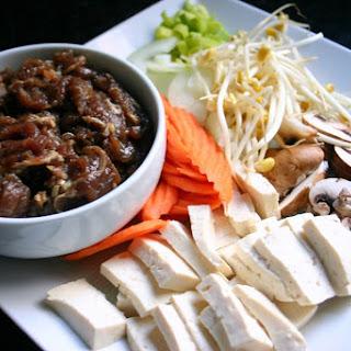 Korean Bulgogi Stew (Bulgogi Jungol) Recipe