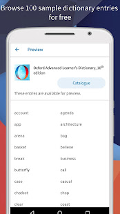 Oxford Advanced Learner's Dictionary 10th edition apk