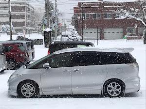 エスティマ ACR55W G  4WD 寒冷地仕様のカスタム事例画像 ごっくんさんの2018年12月01日11:05の投稿