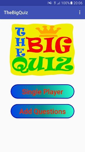 The Big Quiz 1.0 screenshots 1