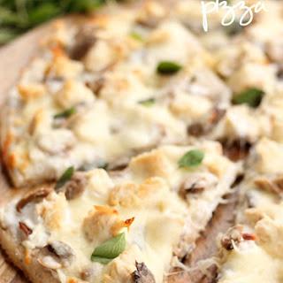Chicken Mushroom Pizza.