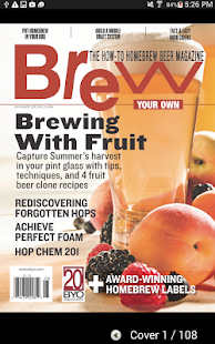 Brew Your Own Magazine- screenshot thumbnail