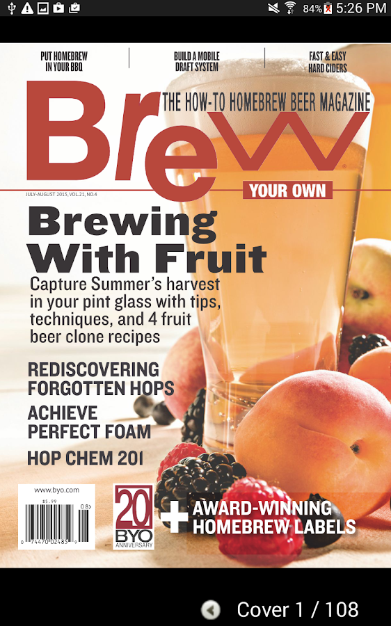 Brew Your Own Magazine- screenshot