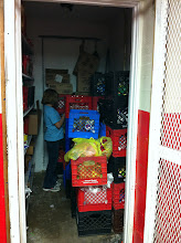 """Photo: This closet is where they keep items that they get as direct donations and also """"buy"""" at 19 cents a pound."""