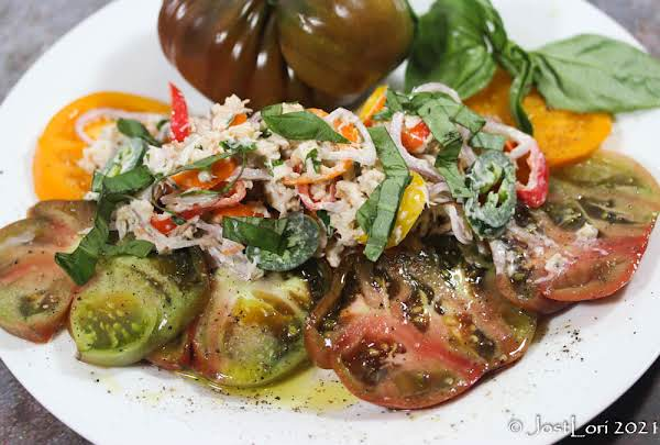Crab And Heirloom Tomato Salad