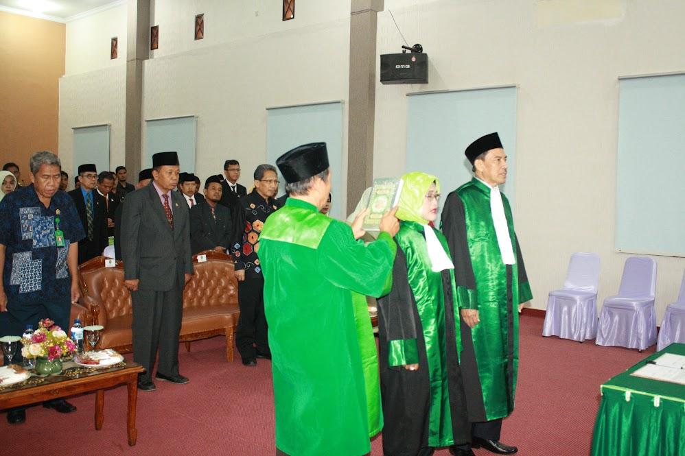 Pelantikan Wakil Ketua dan Hakim Tinggi PTA Gorontalo