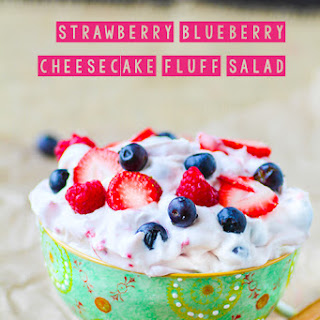 Berry Cheesecake Fluff Salad
