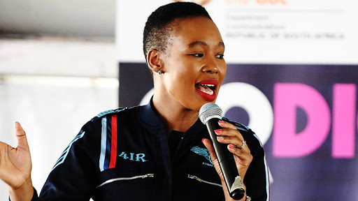 Communications and digital technologies minister, Stella Ndabeni-Abrahams.