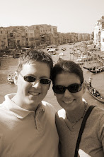 Photo: Curt & Teresa over the Grand Canal