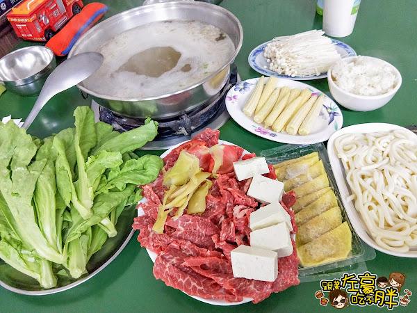 屏東新園汕頭火鍋~牛肉火鍋老店推薦,開店30分手工牛肉盤完售