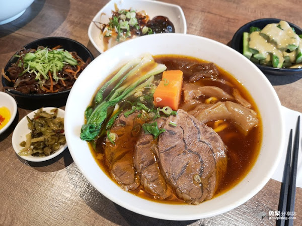 牛莊園牛肉麵 Manor Beef|清燉蔬果湯頭|上班族美味小確幸