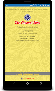 THE CHENNAI SILKS - SUPPLIER- screenshot thumbnail