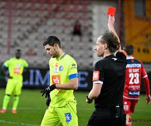 """Vanhaezebrouck à propos du carton rouge de Yaremchuk : """"C'est typique des défenseurs face à un bon attaquant"""""""