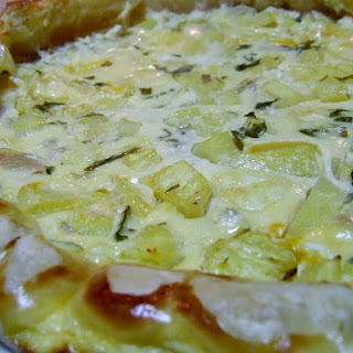 Tuna and Pineapple Quiche.