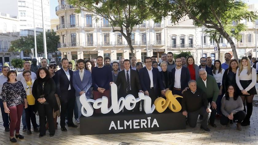 Presentación de la sexta edición de la Feria 'Sabores Almería'.