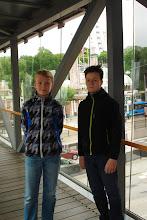 Foto: Pontus & Wictor, förväntasfulla :)