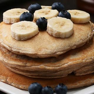 Vanilla Protein Pancakes.