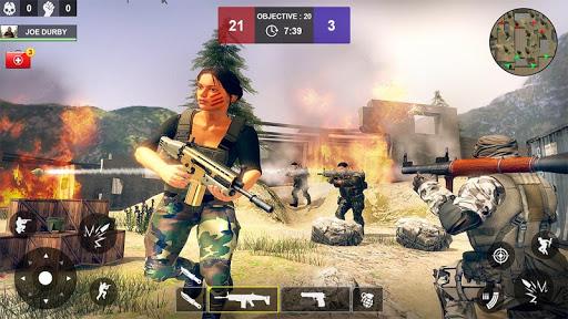 Counter Attack Shooting (CAS) - New FPS Strike apkmind screenshots 5
