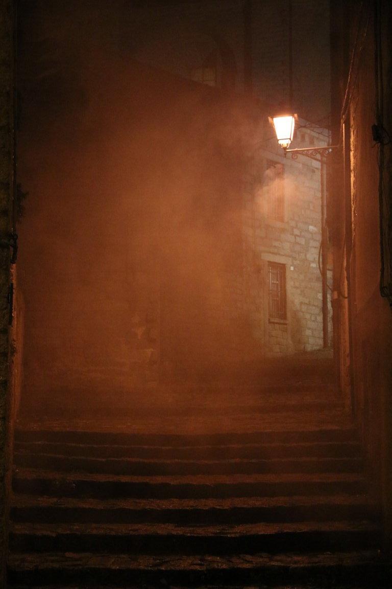 Nebbia....in salita di ICIO_60
