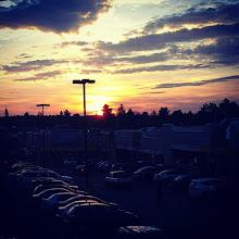 Photo: Después de un largo día nada mas lindo que un paisaje como ese.