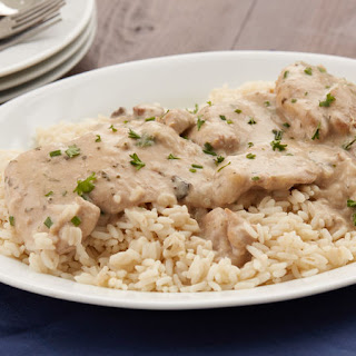 Creamy Ranch Slow-Cooker Chicken.