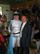 Photo: Cleo und Prasident Master Kim