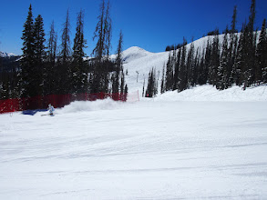 Photo: The Super-G/ Downhill was a true Super G that was from the top of Wolf Creek to the bottom!