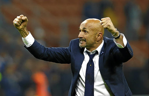 Sideline emotions: Inter Milan coach Luciano Spalletti has guided his players to a tremendous season, taking 29 points from 11 games. The team can cement their position at the top of the table at home to Udinese on Saturday. Picture: REUTERS