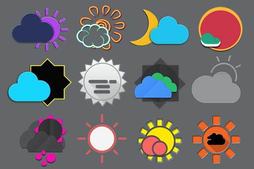 Zai3 Weather Komponents Kustom screenshots 1
