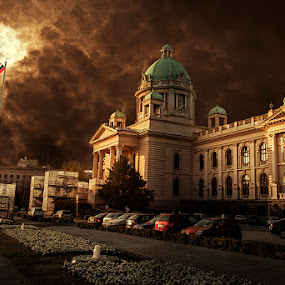 Serbian Parliament  by Bojan Dzodan - Buildings & Architecture Public & Historical