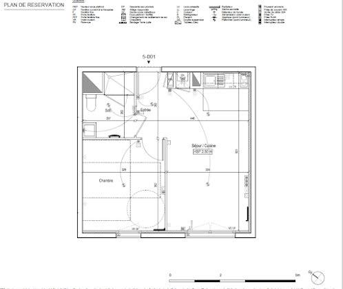 Vente appartement 2 pièces 39,6 m2