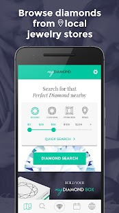 MyDiamond, Browse Local Stores- screenshot thumbnail