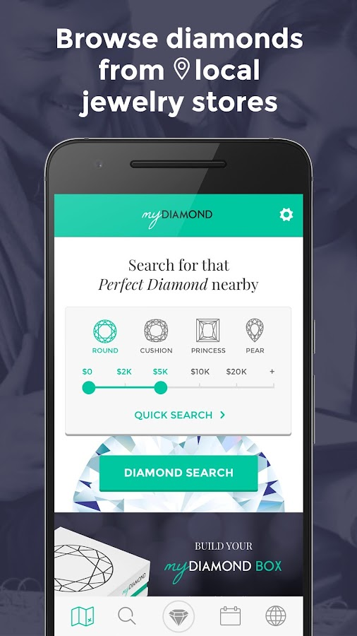 MyDiamond, Browse Local Stores- screenshot
