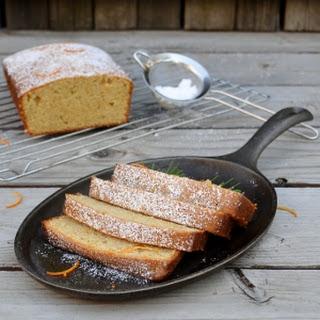 ORANGE-ROSEMARY POUND CAKE