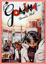 "Photo: ""Gomina"", 1973, aérographe sur carton. Illustration Philippe Morillon."
