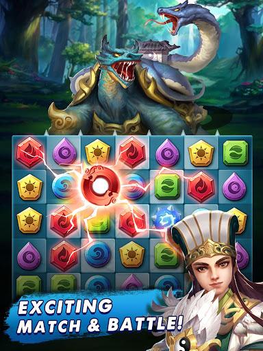 Three Kingdoms & Puzzles: Match 3 RPG 1.5.0 screenshots 11