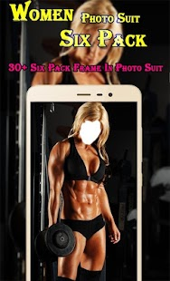 Woman Six Pack Photo Suit - náhled