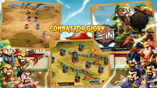 Télécharger Thrones of 3 Kingdoms Conquest mod apk screenshots 4