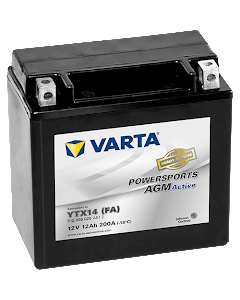 Batteri MC YTX14 (FA) AGM - 12Ah