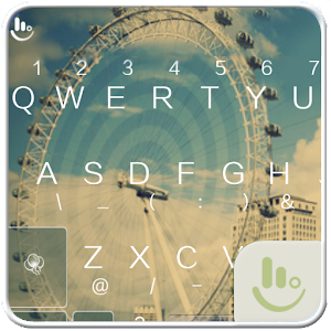 download TouchPal Ferris Wheel Keyboard apk