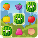 Match 3 Happy Fruits Icon