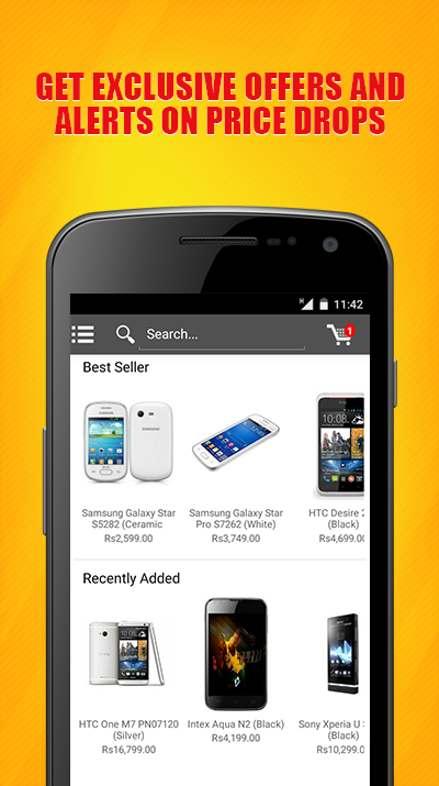 Gobol: Mobiles Shopping India- screenshot